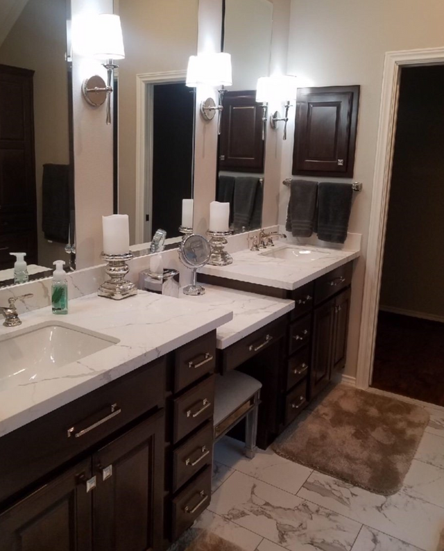 Bathroom Remodeling Cypress Katy Houston Tx H Towne Around Remodelers Inc