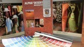 pannello colori decorativi a marchio ALPHA DESERT