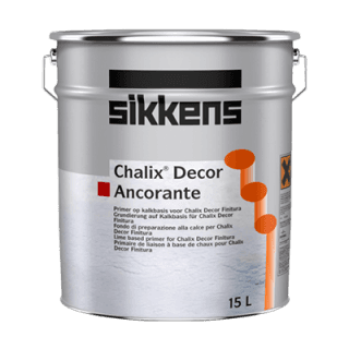 barattolo vernice a marchio SIKKENS CHALIX DECOR