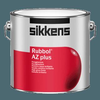 barattolo vernice a marchio SIKKENS RUBBOL AZ PLUS