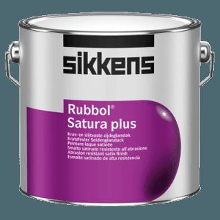 barattolo vernice a marchio SIKKENS RUBBOL SATURA PLUS
