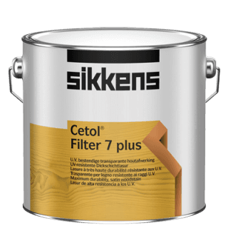 barattolo vernice a marchio SIKKENS CETOL FILTER 7 PLUS