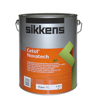 barattolo vernice a marchio SIKKENS CETOL NOVATECH BP