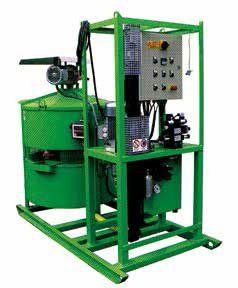 un compressore di color verde