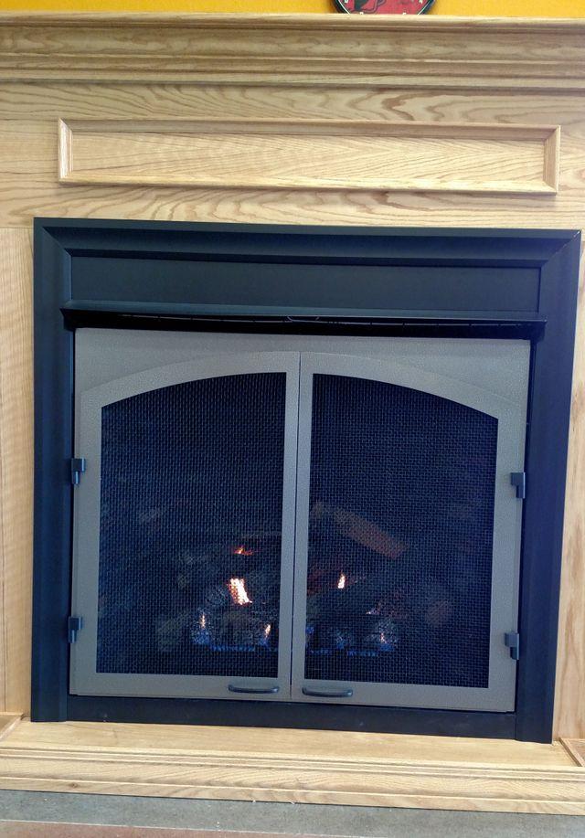 Gas fireplace in Bergman, AR