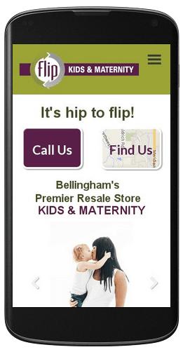 Flip Kid's & Maternity Responsive Web Design