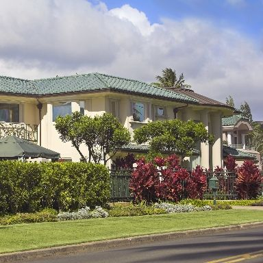 exterior of a luxury Hawaiian house