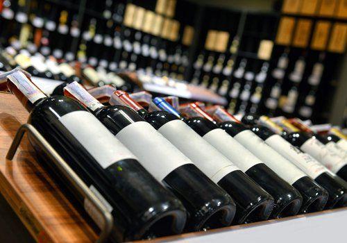 bottiglie di vini
