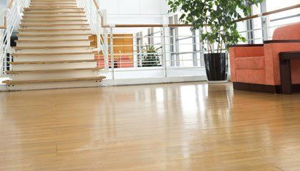 glossy finish flooring
