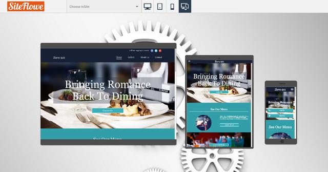 siteflowe cms website platform