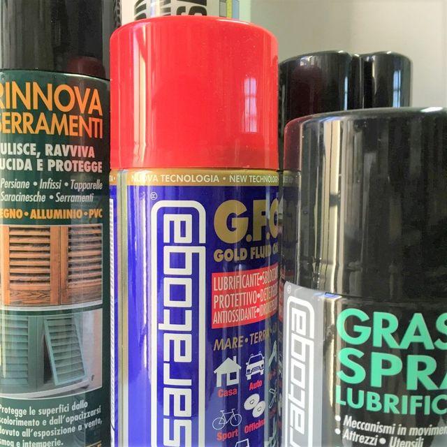 Sigillanti e prodotti chimici in bomboletta