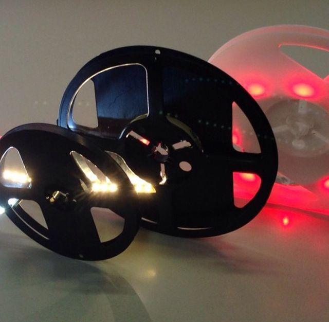 Esempio del funzionamento di una luce a led