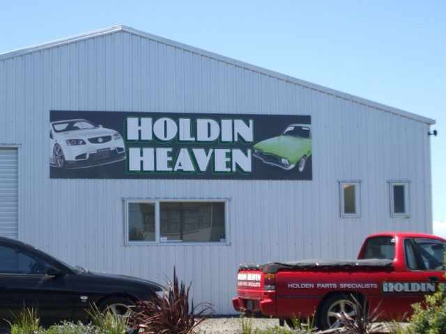 Holden spares in New Plymouth