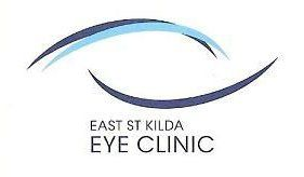 east st kilda eye clinic business logo