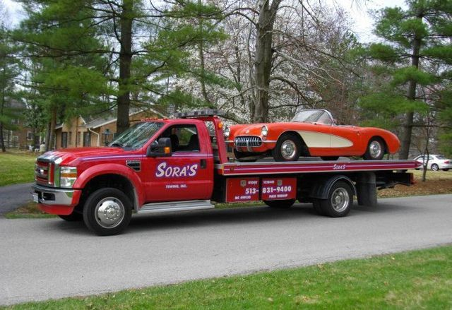 Our tow truck