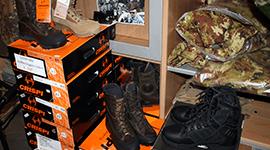 calzature militari