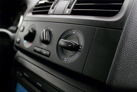 air conditioning for the car