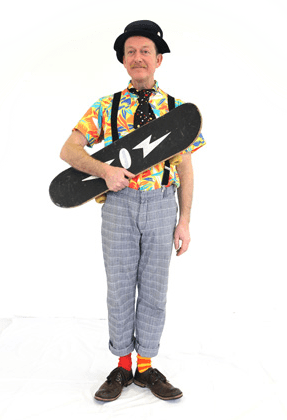 Professional children's entertainer - Bristol - Clown Bert's Super Shows