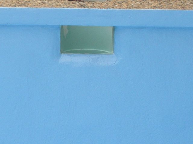 Repair work completed on the pool by experts