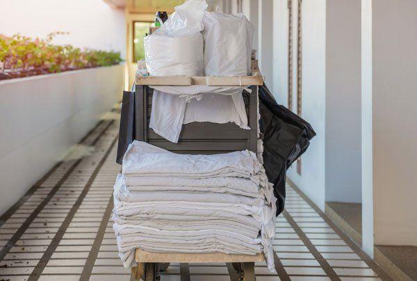 Servizio della pulizia per gli alberghi a Caorle-Puli.Gest. sas