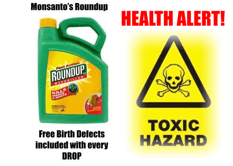 Monsanto Roundup toxic hazard