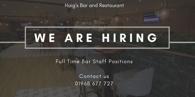 Recruitment Opportunities at Haig's