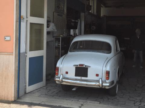 auto d'epoca ristrutturata