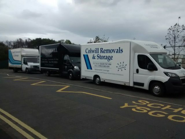 daacef35f6 A professional removals service - Colwill Removals
