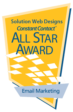 Constant Contact Email Award Solution Web Designs