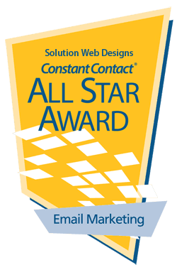 Solution Web Designs Email Marketing Award