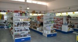 materiale edile in negozio