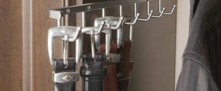 Custom Closet Belt Rack Accessories