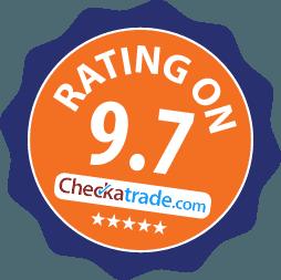 9.7 rating on Checkatrade
