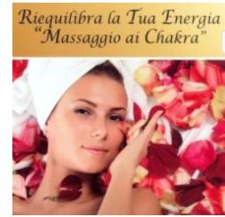 Massaggio Chakra agli oli essenziali