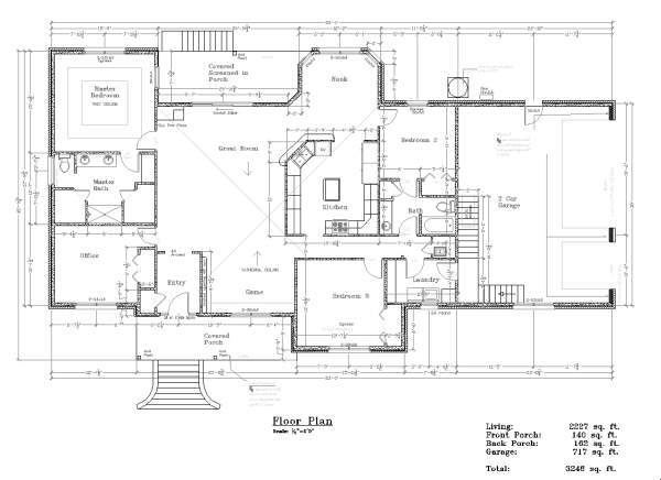 Slab foundation floor plans thefloors co for Slab floor plans
