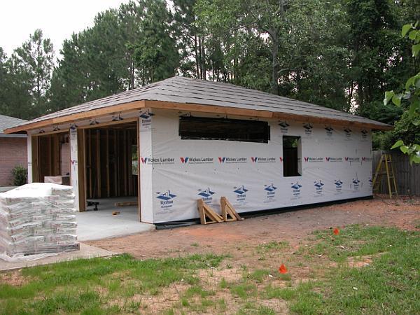 Garages pettinato construction inc gulf breeze fl for Detached garage cost estimator