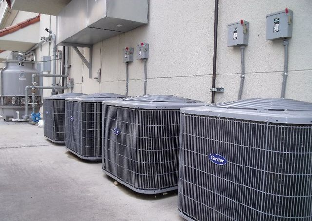 RMG air conditioning and heating commercial air conditioning services