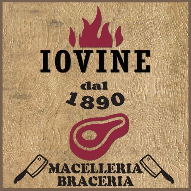 IOVINE 1890 MACELLERIA BRACERIA-Logo