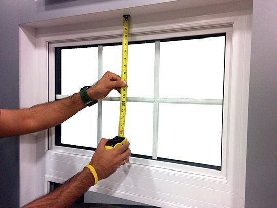 Measuring Windows for Window Treatments