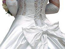 lavaggio abito da sposa