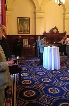 July 2015 – Clive Driscoll's Book Launch - In Pursuit of the Truth