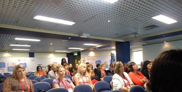 Conference room full of women at the International Association of Women Police - 53rd Annual Training Conference