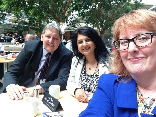 With Clive Driscoll. Speaking with Deidre Brock MP - Edinburgh North & Leith.