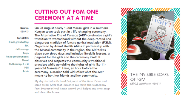 Cutting out GFM one ceremony at a time article snipet