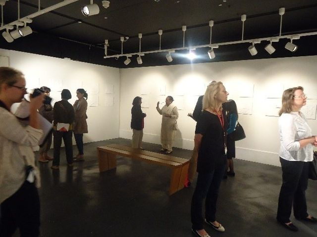 Sarbjit at Art Exhibition of 'JOY' by Liaise Group