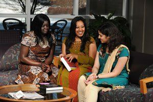 young women of different ethnicities
