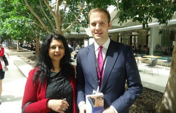 Sarbjit and James Berry