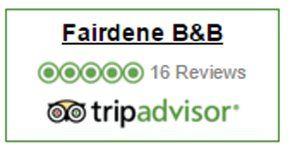 Reviews on tripadvisor -  Fairdene B&B