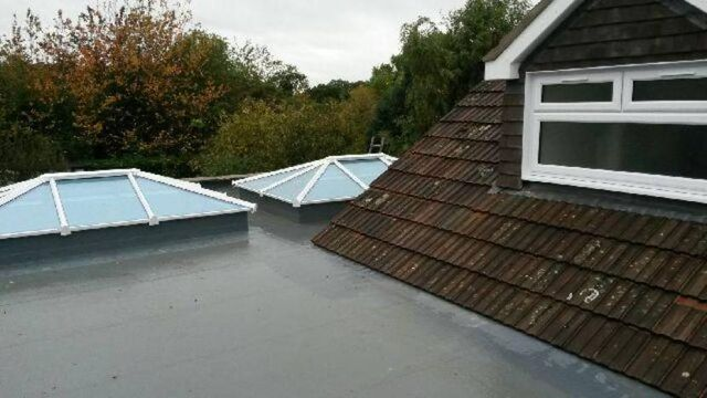 Installation of new roofs