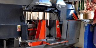 Taglio materie metalliche